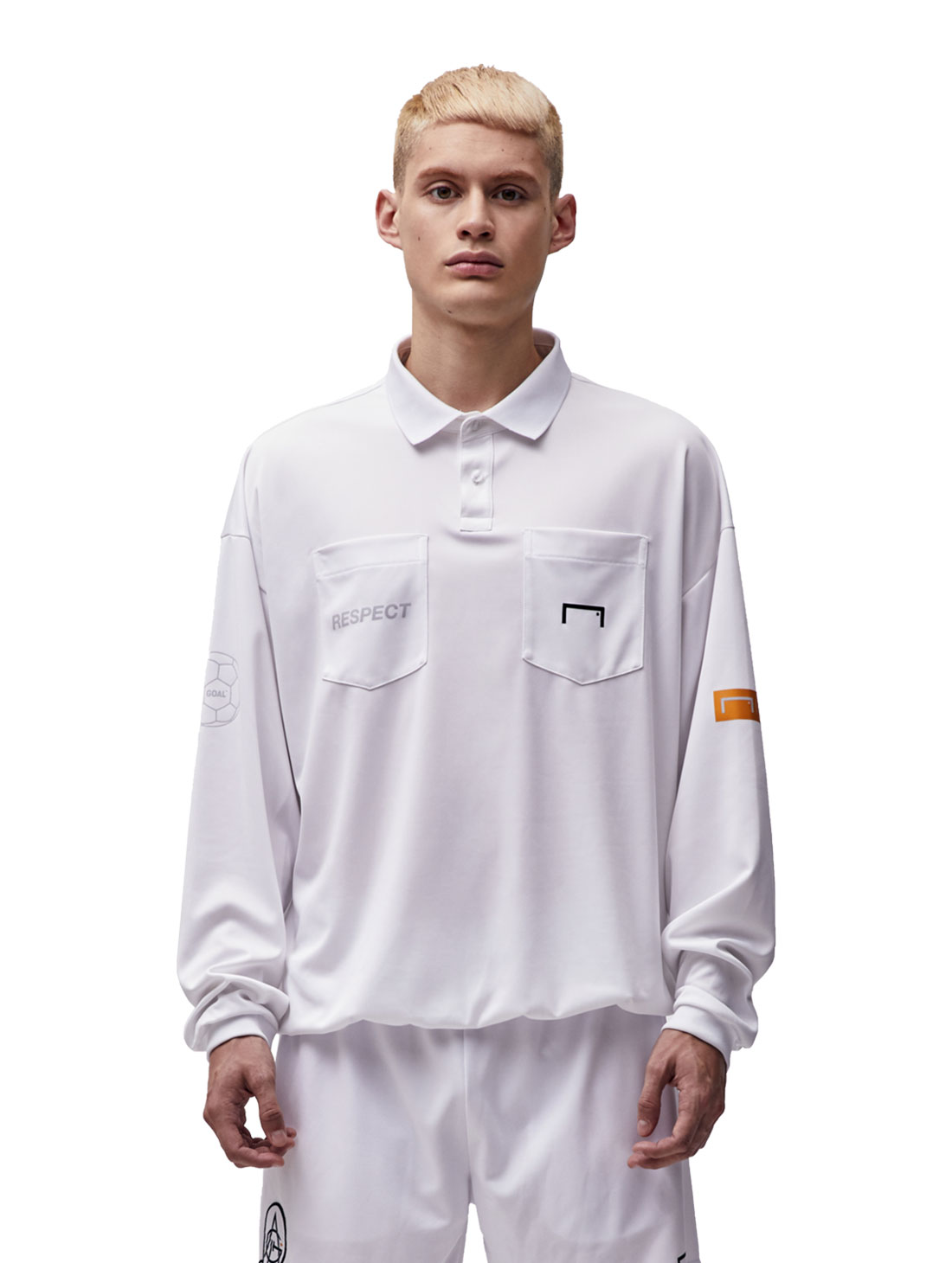 RESPECT REFEREE SHIRT - WHITE