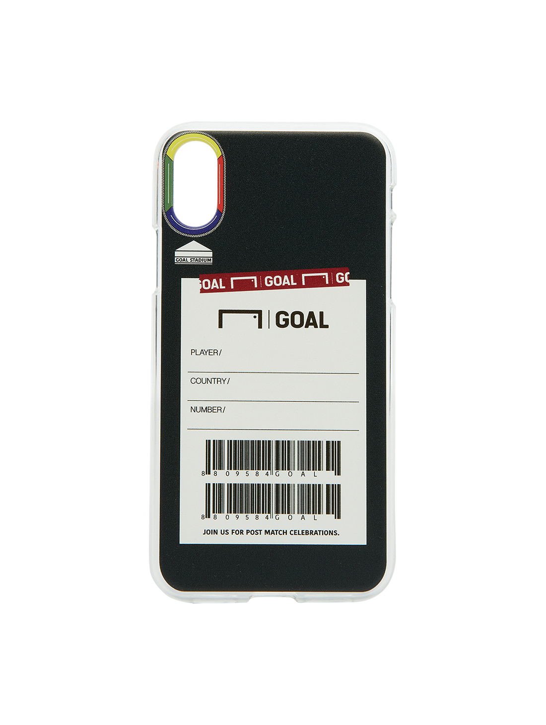GOALSTUDIO CUSTOM PHONECASE - BLACK (iPhone)