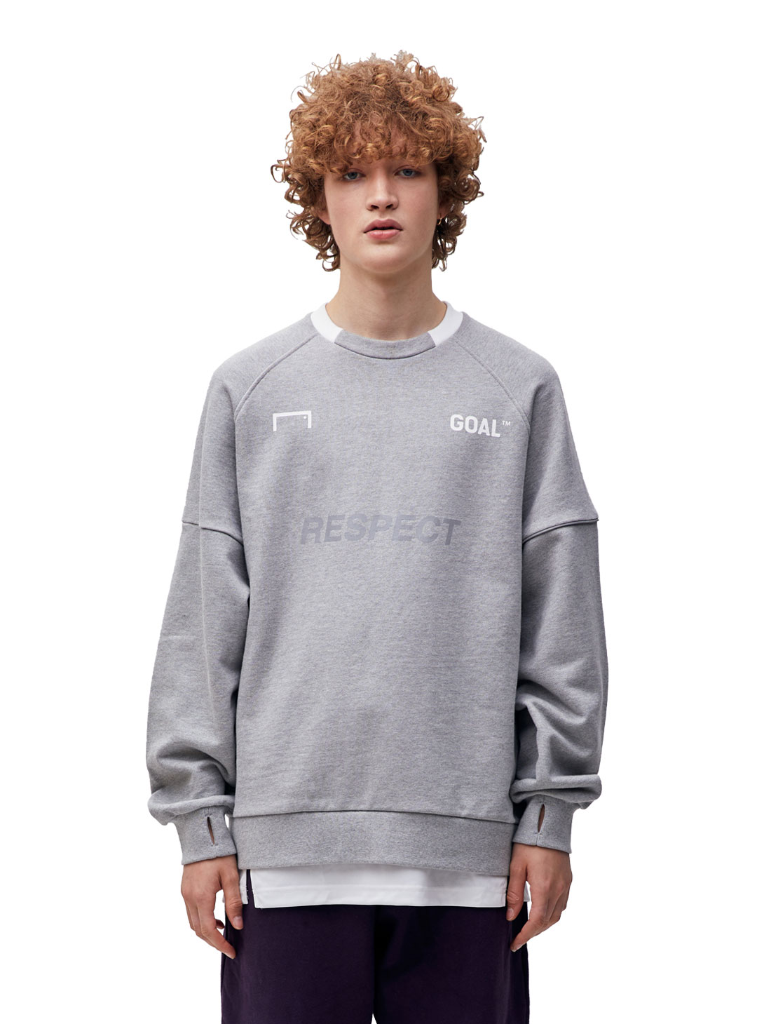 RESPECT SWEATSHIRT - GREY