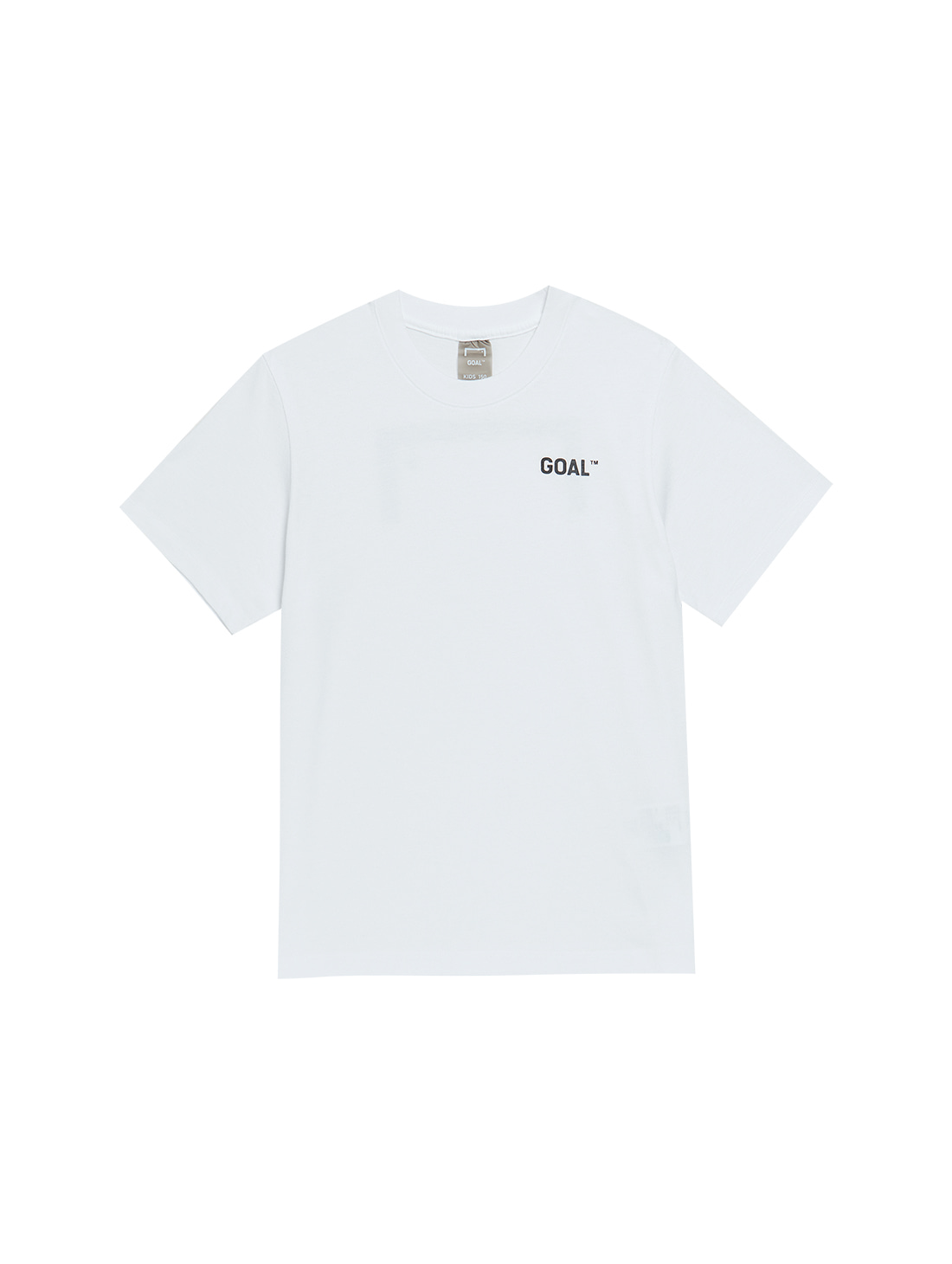 (KIDS) TEXT LOGO TEE - WHITE