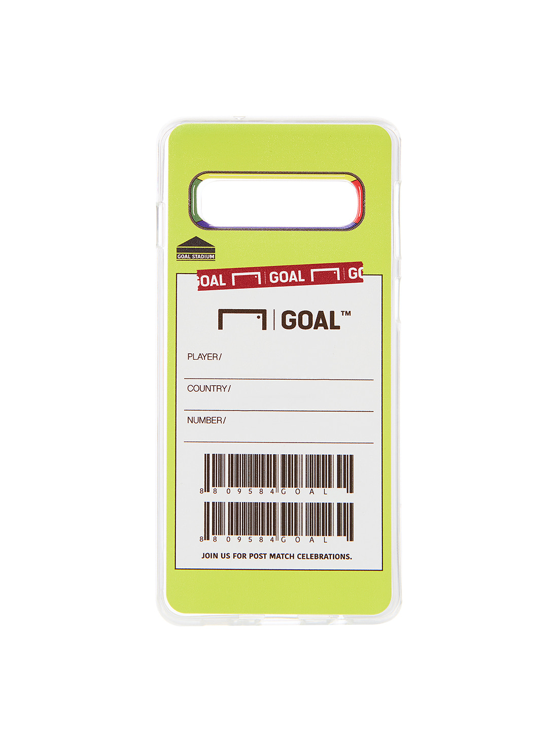 GOALSTUDIO  CUSTOM PHONECASE - LIME (Galaxy)