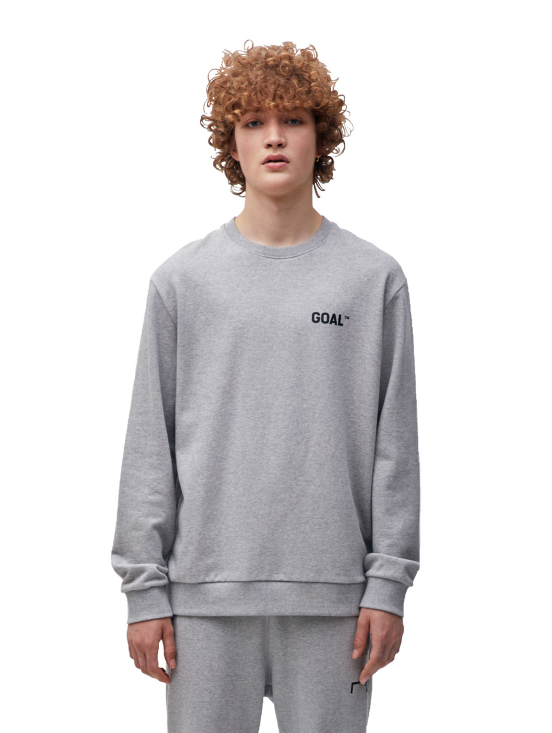 BACK LOGO SWEATSHIRT - GREY