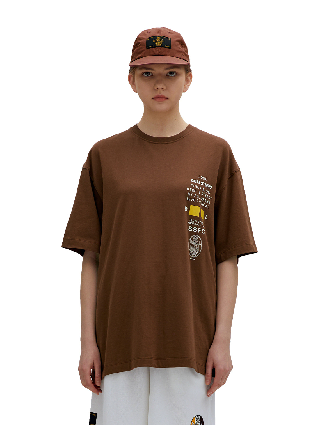 SSFC JERSEY SINGLE SHORT SLEEVE - BROWN