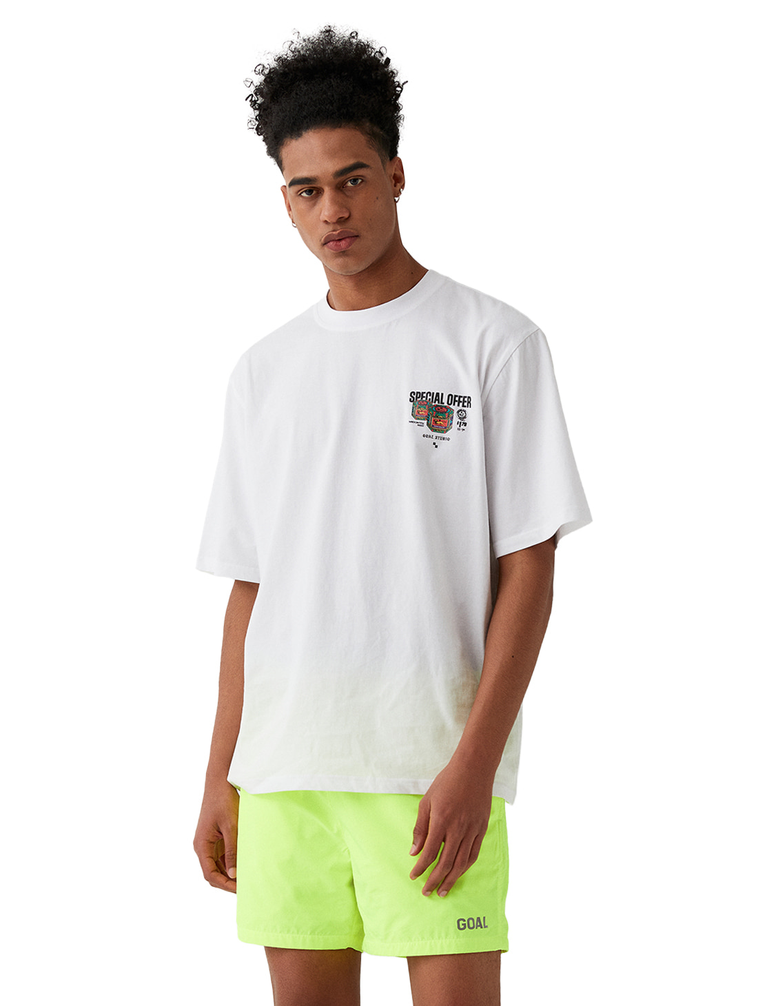 MC BALM LOGO GRAPHIC TEE - WHITE