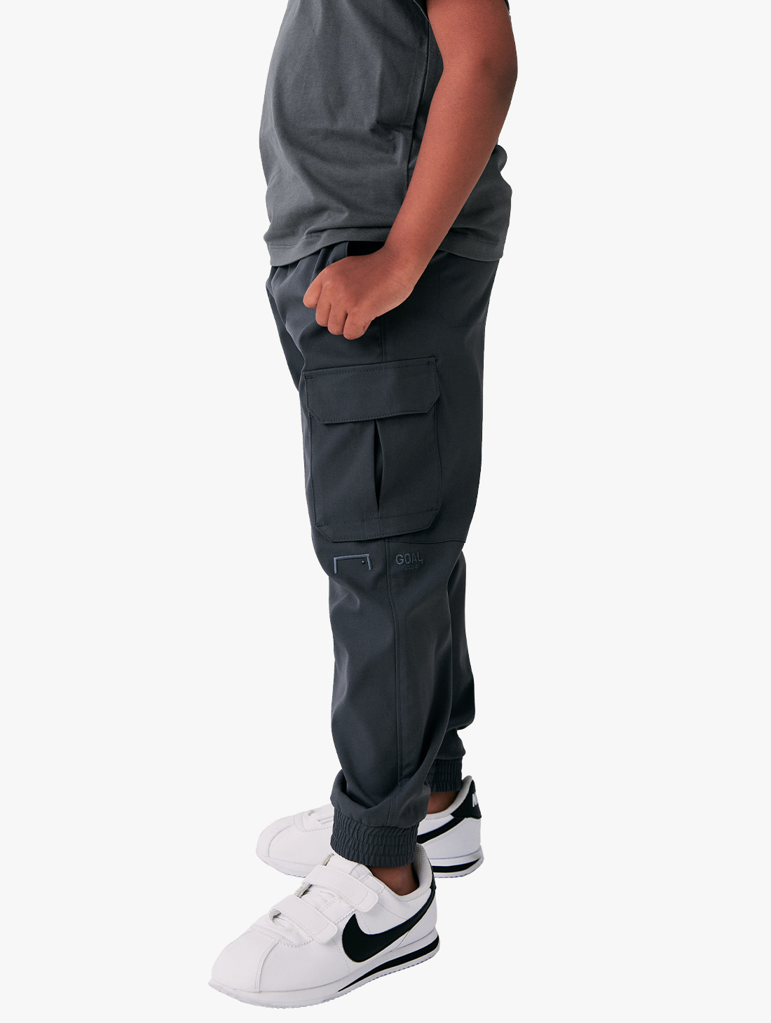 (KIDS) CARGO WOVEN PANTS (2 Colors)