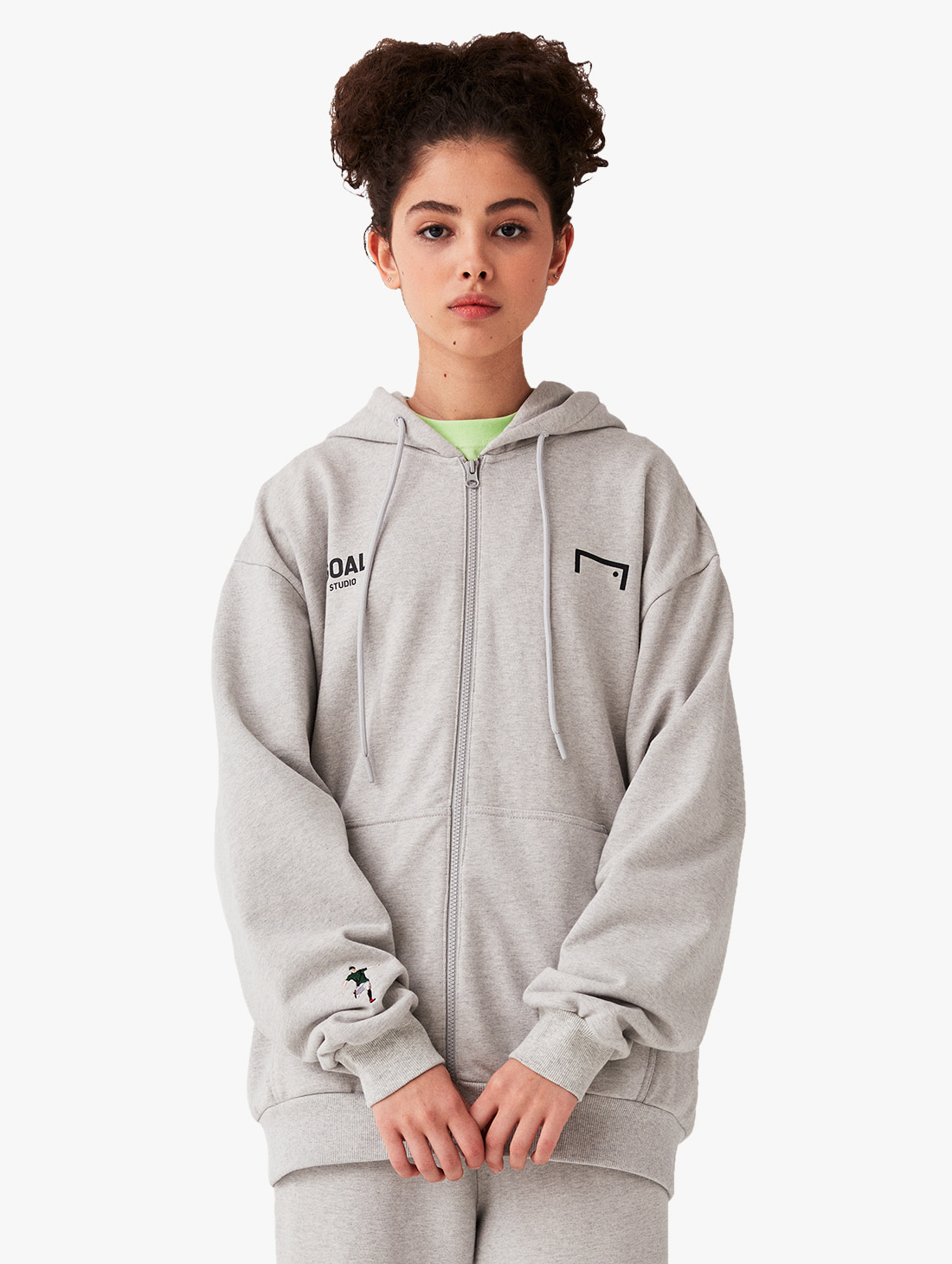 SIGNATURE ZIP UP HOODIE (3 Colors)