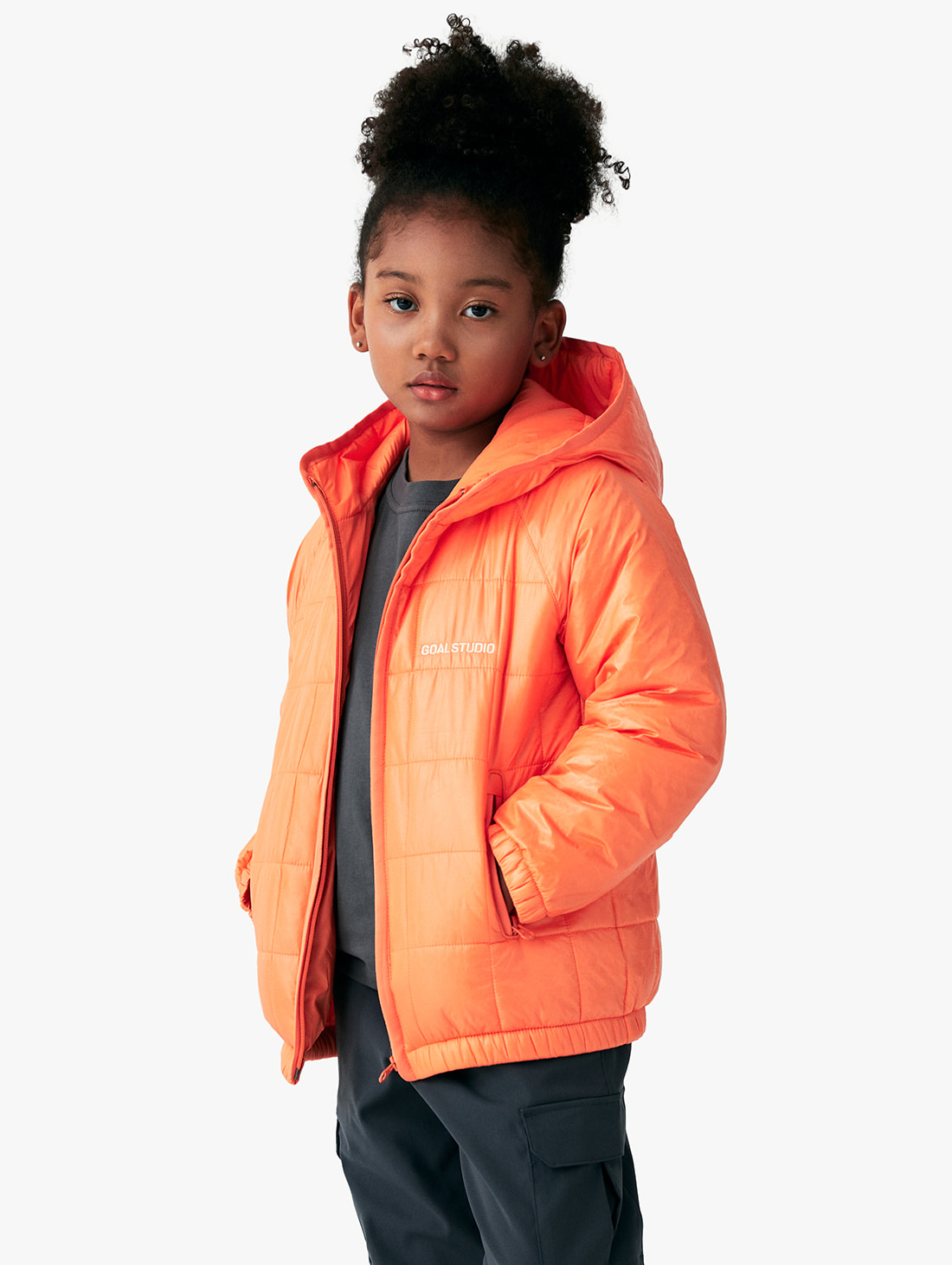 (KIDS) QUILTED PUFFER JACKET (3 Colors)